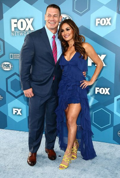 Nikki Bella Photos - (L-R) John Cena and Nikki Bella attend FOX 2016 Upfront Arrivals at Wollman Rink, Central Park on May 16, 2016 in New York City. - FOX 2016 Upfront - Arrivals