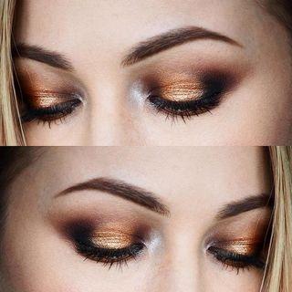 Nyx Prismatic Eyeshadow in Liquid Gold