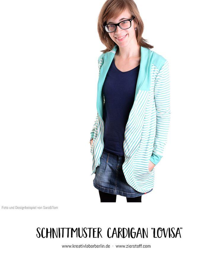 """Cardigan """"Lovisa"""" genäht von Sara&Tom"""