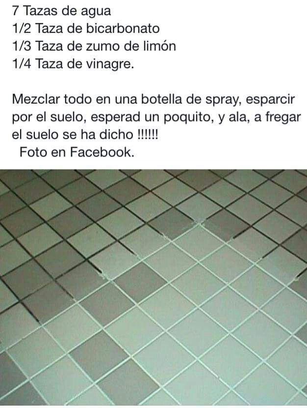 Para limpiar azulejos