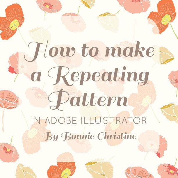 patterns in illustrator tutorial