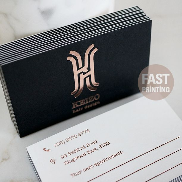 194 best business cards images on pinterest lipsense business foil business card reheart Choice Image