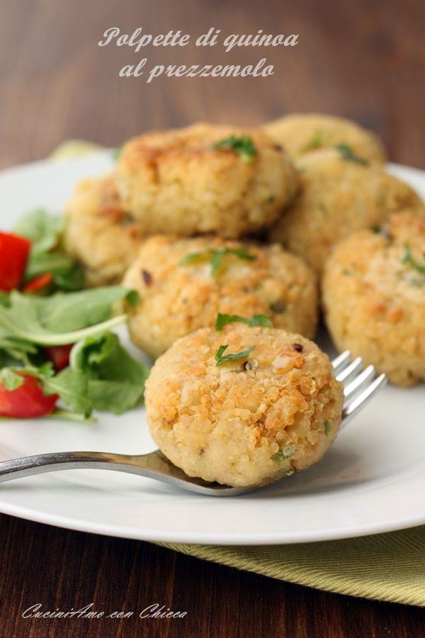 Polpette di quinoa al prezzemolo |CuciniAmo con Chicca