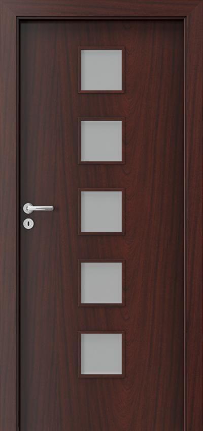 Porta FIT B5 Mahoń