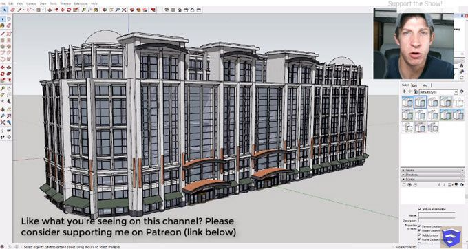 In This Sketchup Video Tutorial You Will Learn Different