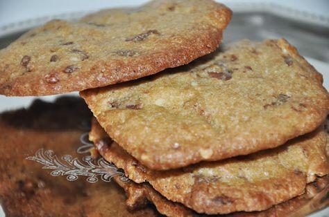 Miss Mette: Cookies med valnødder og mælkechokolade
