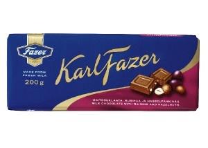 Fazer Nut&Raisin 200g chocolate