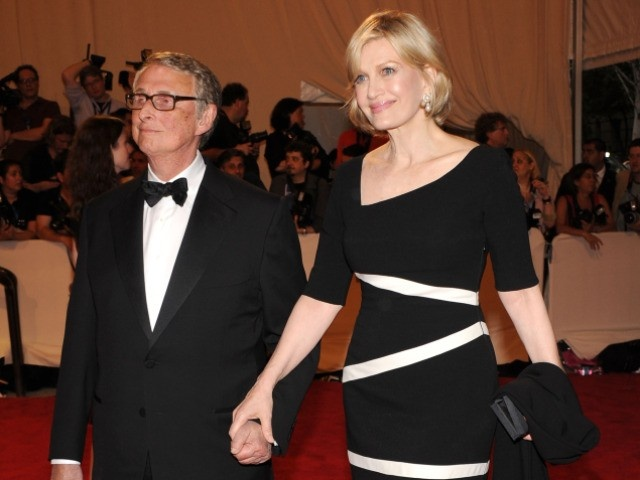 Mike Nichols & Diane Sawyer. she is ridiculously beautiful and fashionable and makes the 60's rock. He is a bit odd. | Celebrity encounters | Pinterest ...