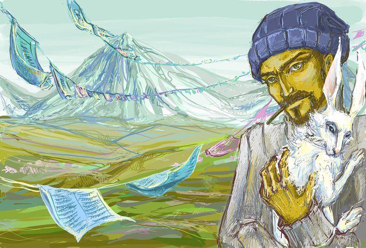 Tibet love you by VoodooMouse on deviantART