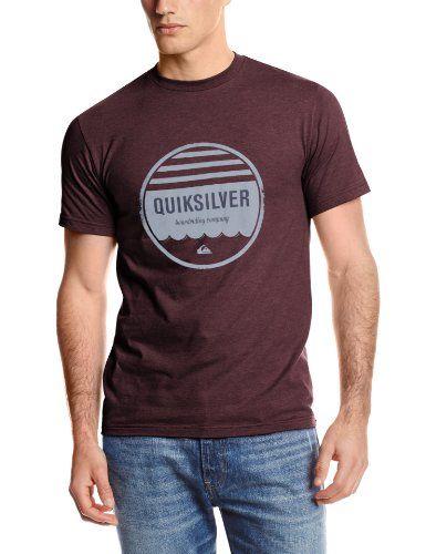 Black Friday Quiksilver Men's Ground Swell T-Shirt, Sassafras Heather,  Medium from Quiksilver