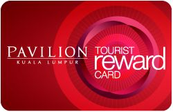 We would like to open up a world of privileges just for you. Simply sign up for a free Tourist Reward Card to enjoy fantastic offers at over 200 participating stores.  Just present the card at any of the participating stores in Pavilion KL before making payments to enjoy the offers. Just head over to our Concierge Desk on Level 3 with your passport to apply.