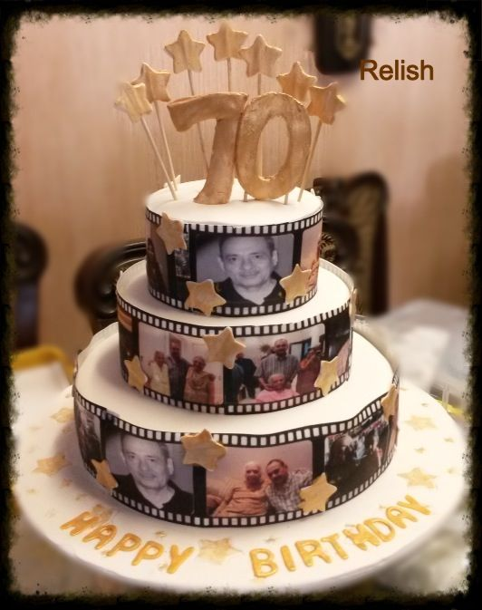 17 best images about 70th birthday ideas on pinterest for 70th birthday cake decoration ideas