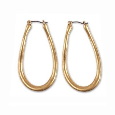 Shaped to accentuate the features, these sophisticated earrings can be worn day to evening