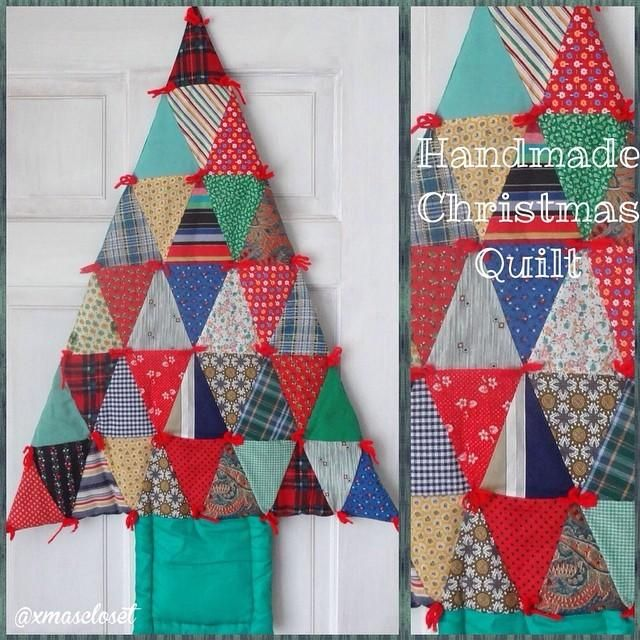 Christmas Tree Quilt Wall Hanging For Sale Instagram