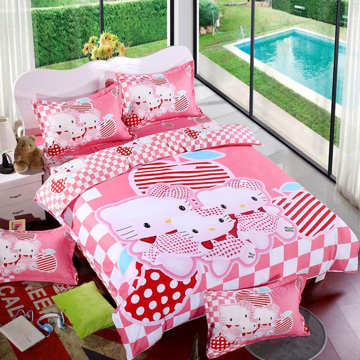 Plus de 1000 id es propos de parure de lit hello kitty for Housse de voiture hello kitty