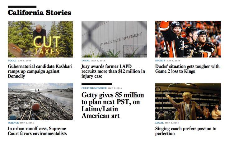 LA Times - no image? larger headline.