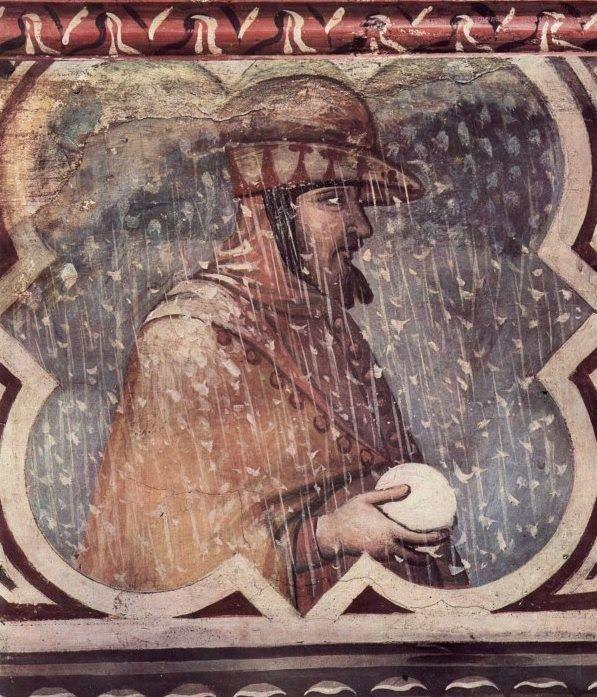 1338-1340 Ambrogio Lorenzetti, Siena: Allegoria dell'Inverno Allegory of Winter
