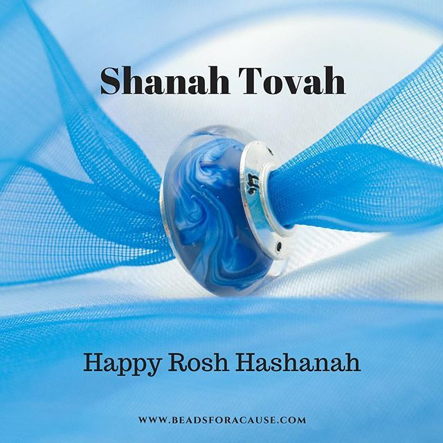 Happy Rosh Hashanah! Shanah Tovah from Beads for a Cause (A Division of Confidence Beads)