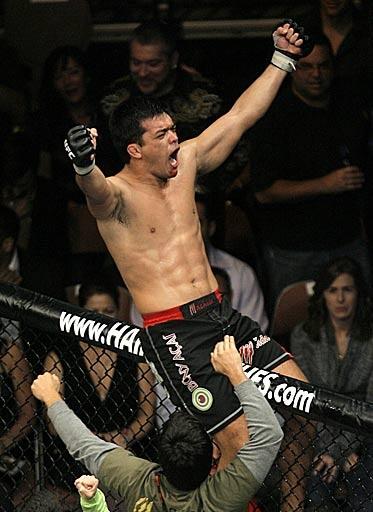 Lyoto Machida <3  My weakness are UFC Fights.