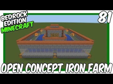 Luxury Iron Farm Minecraft
