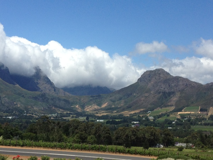 View, Franshoek, South Africa