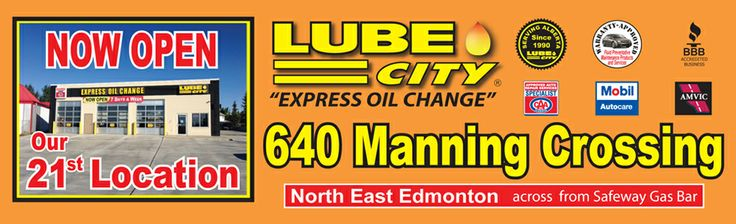 New Manning Location.  http://www.lubecity.ca/