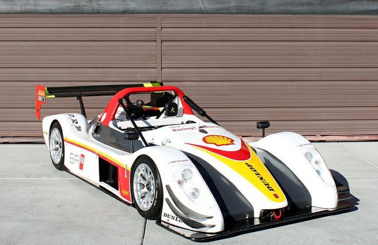 2009 Radical SR8, White/Yellow/Red Yellow, Red, Racing