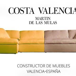 The COSTA VALENCIA. This is a handmade mediterranean sofa. #worldwideshipping #luxuryrealestate #luxury #spain #realestate #designfurniture #chestersofa #homedecor #chair #london #office #housedesign #style #contemporary