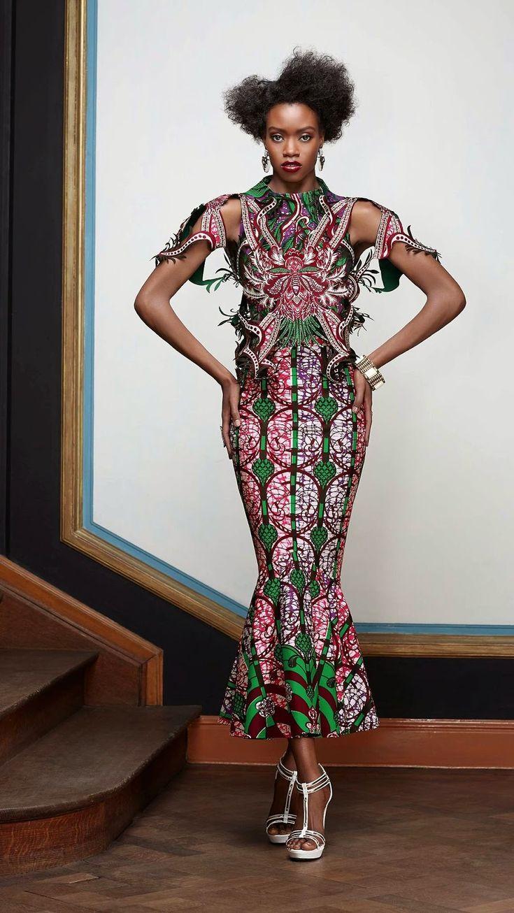 Ankara dress, modern african print dress, ankara gown style, vlisco dresses, Nigerian fashion blog