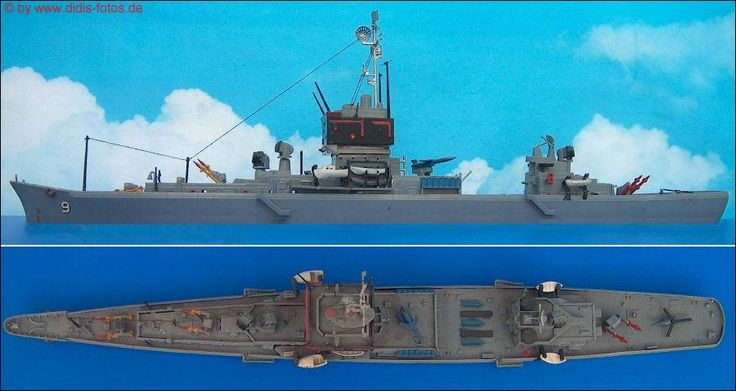 "CGN-9 USS ""Long Beach"" 1:508 Revell"