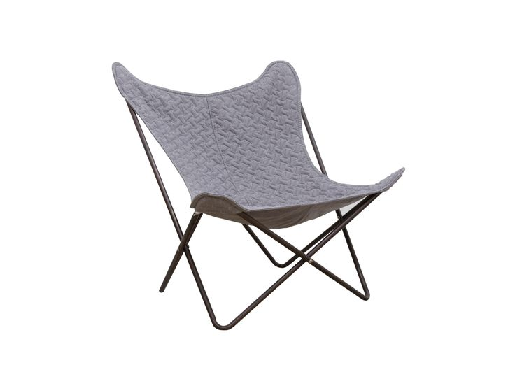 Butterfly Chair - Grey