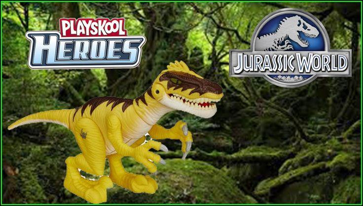 Jurassic World PlaysKool Heroes Velociraptor Chomp & roar! Mord et rugit!