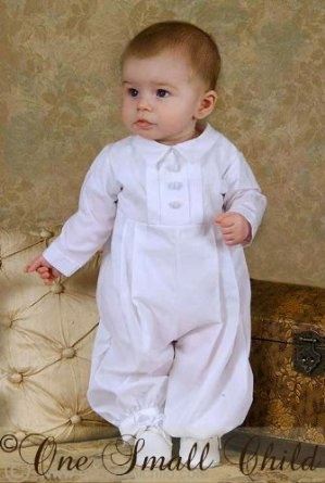 Michael 100% Cotton Christening Outfit