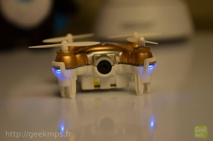 Test du mini drone avec caméra cheerson cx-10W  006
