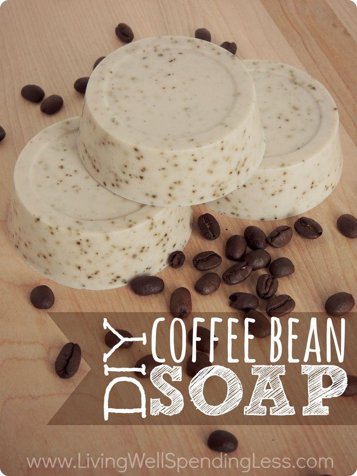 DIY Coffee Bean Soap – Living Well Spending Less®