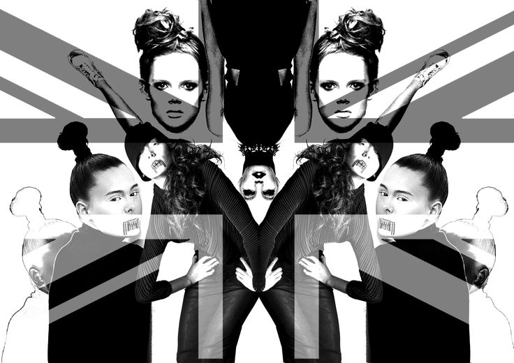 A collection of @dmonicintent models and outfits reproduced in graphic print!!   #dmonicintent #designer #art #fashion #love #blackandwhite #flag #graphicdesign #fashiondesign