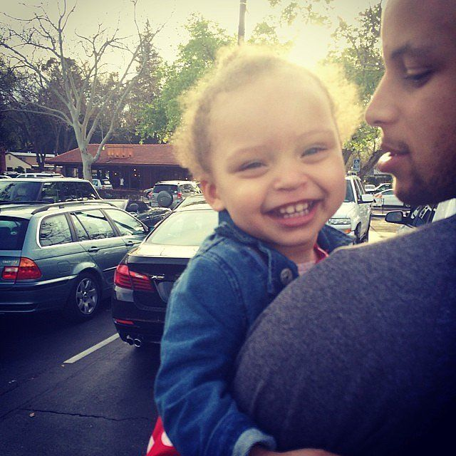 Pictures of Stephen Curry's Family and Daughters   POPSUGAR Celebrity Photo 9