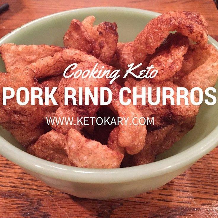 Low Carb Pork Rind Churros