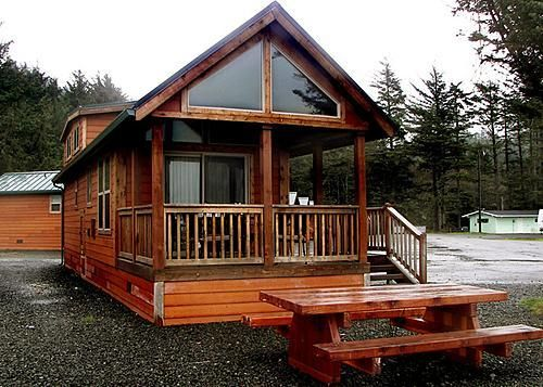 A rv loft cabin at hobuck beach resort a good choice for a for Rv with loft
