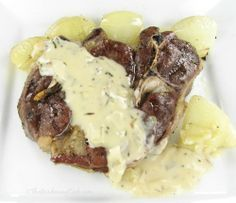 Oven baked Lamb chops