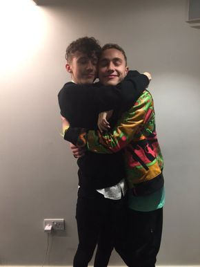Troye Sivan and Olly Alexander of Years & Years