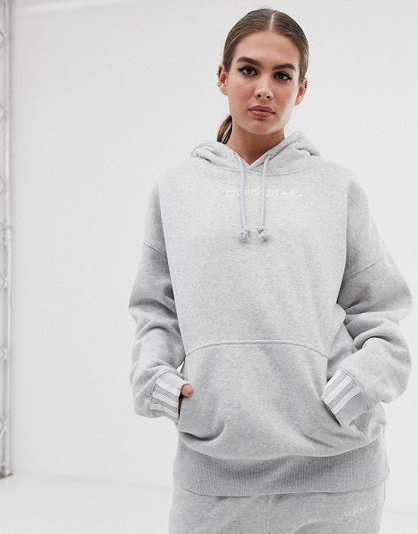 f616d6686 adidas Originals Coeeze Hoodie In Gray Heather in 2019 | :: Adidas ...