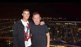 Cristiano Ronaldo se reúne con Peter Lim en Singapur      Cristiano Ronaldo, la estrella portuguesa del Real Madrid,se encuentra de gira promocional en Singapur.