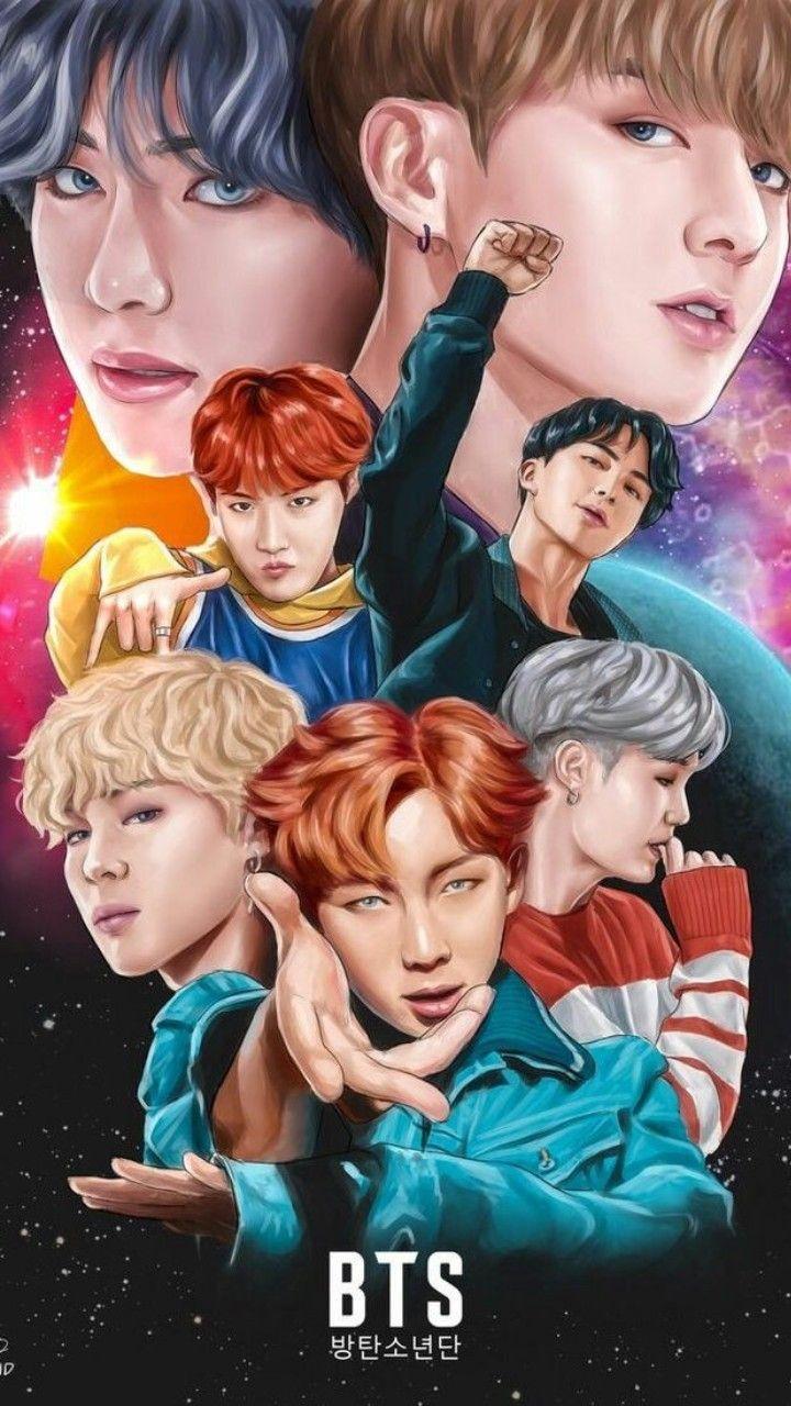 Dünyadaki en güzel grup BTS ❤️