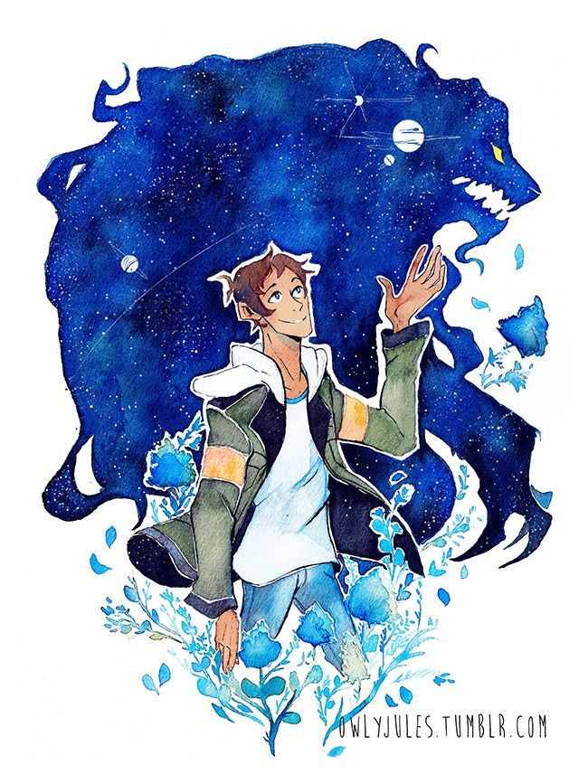 Lance of the Blue Lion from Voltron Legendary Defender