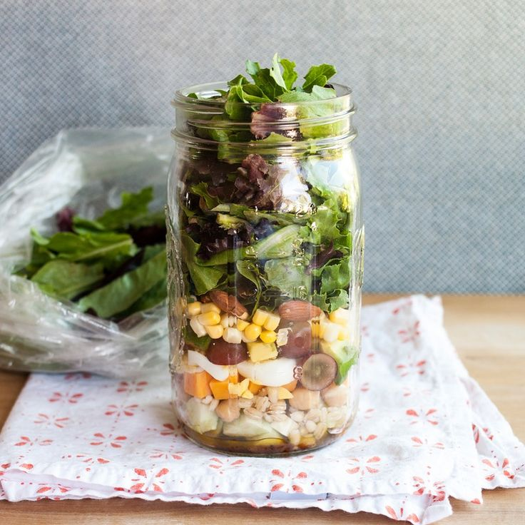 How To Pack the Perfect Salad in a Jar — Cooking Lessons from The Kitchn | The Kitchn