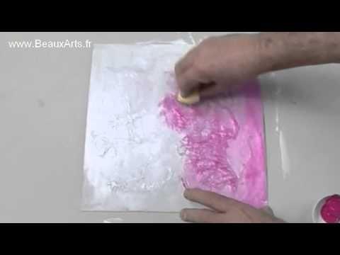 Comment utiliser le modeling paste sur une toile ? et quelle pâte utiliser ? souple, dure ou extra dure ? Le modeling paste, avec ses différentes épaisseurs,...