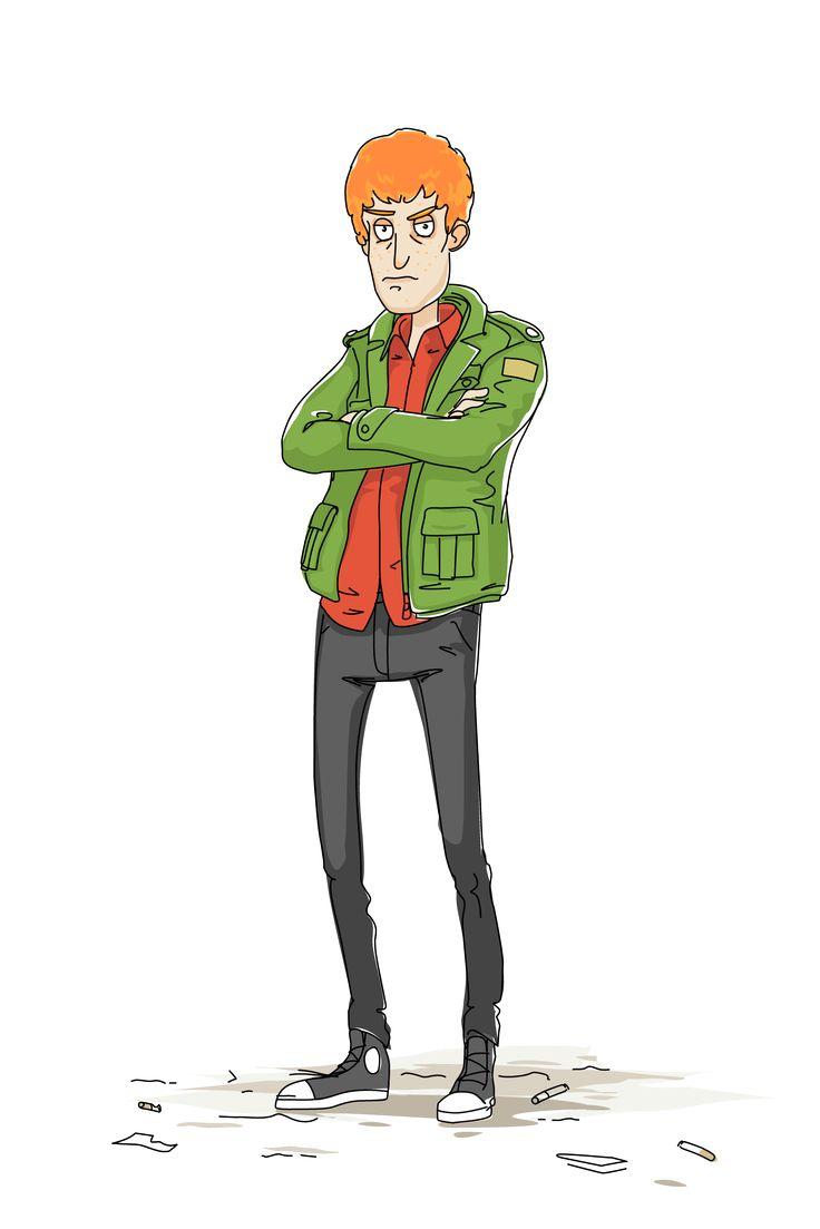 Iain Bucklow – Schooled! An adult animated sitcom about O-week.