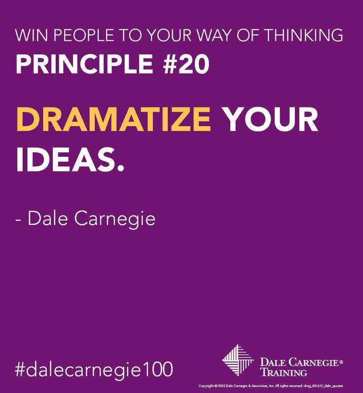 Principle Quotes: De 25+ Bästa Idéerna Om Dale Carnegie Hittar Du På