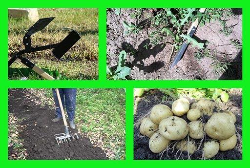 Собирать урожай на даче без труда
